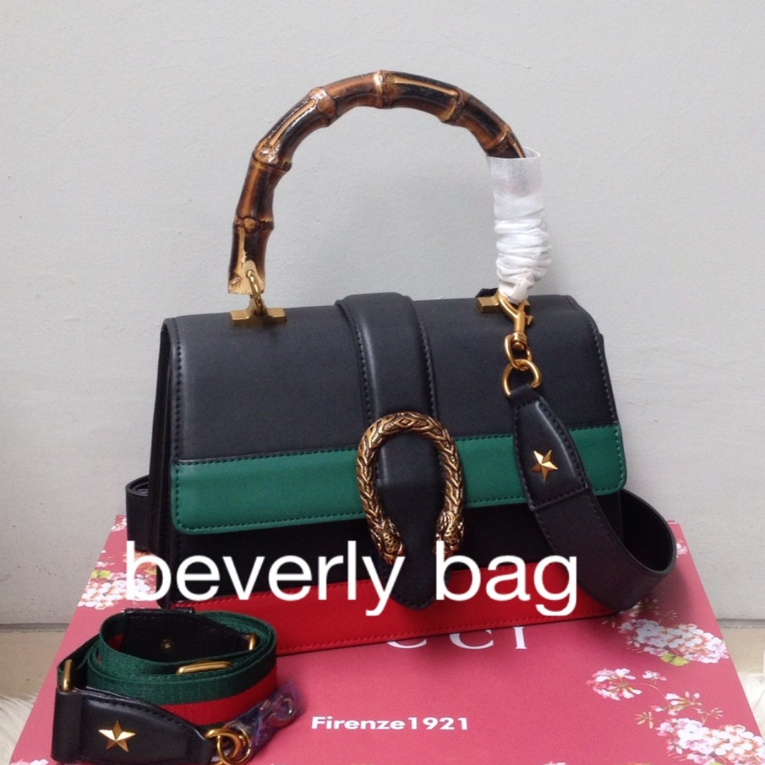 READY tas Gucci Dionysus Bamboo HandleLEATHER MIRROR - 3 Tone ... 1d8c2a7822