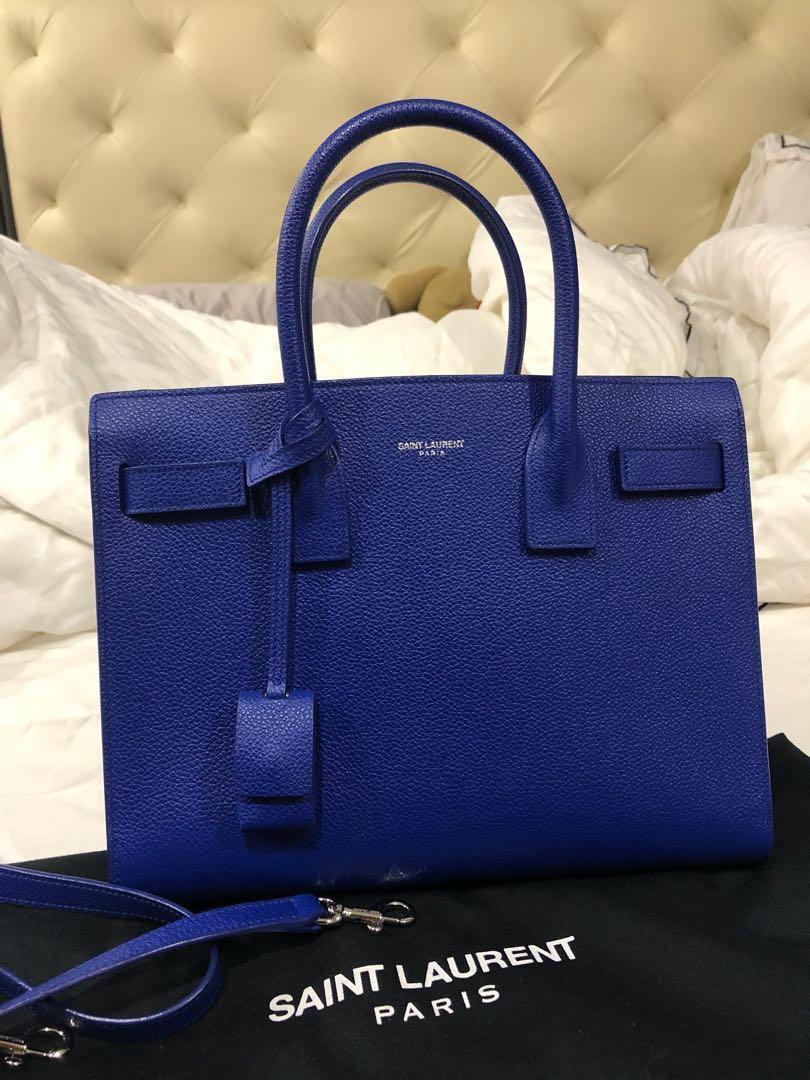 199a6e621aa Saint Laurent Classic Baby Sac De Jour Bag, Luxury, Bags & Wallets ...