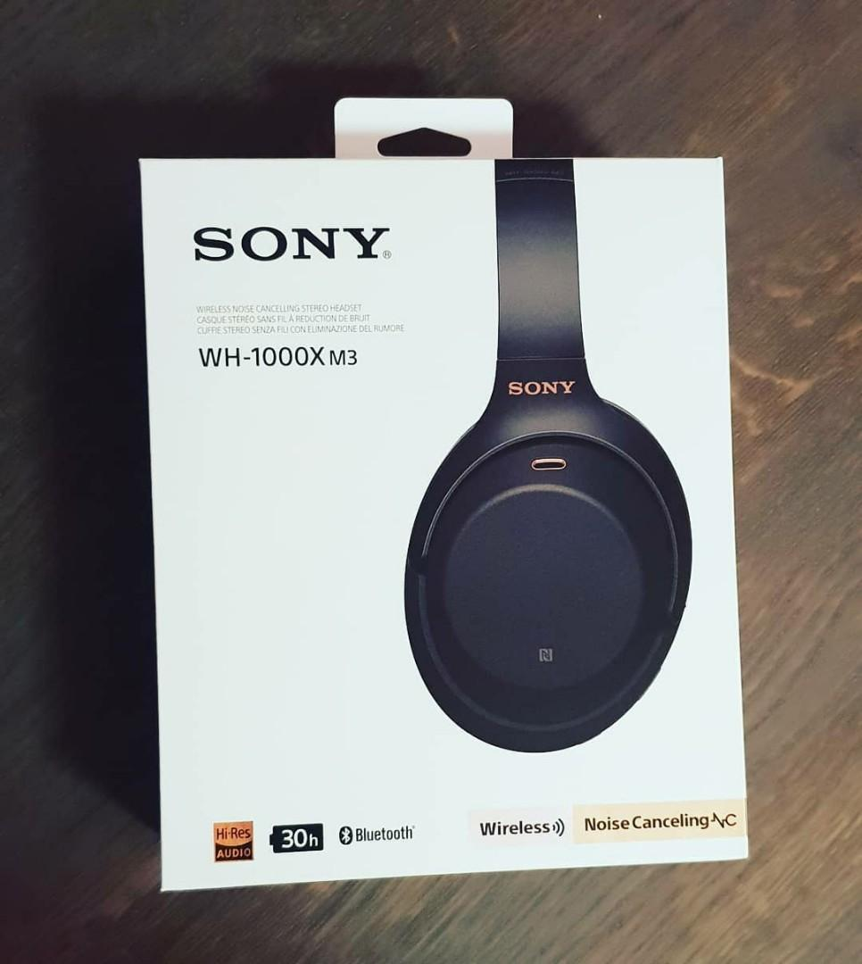 Sony WH1000XM3, Electronics, Audio on Carousell