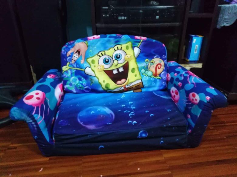 Fine Spongebob Kids Sofa Bed Gmtry Best Dining Table And Chair Ideas Images Gmtryco