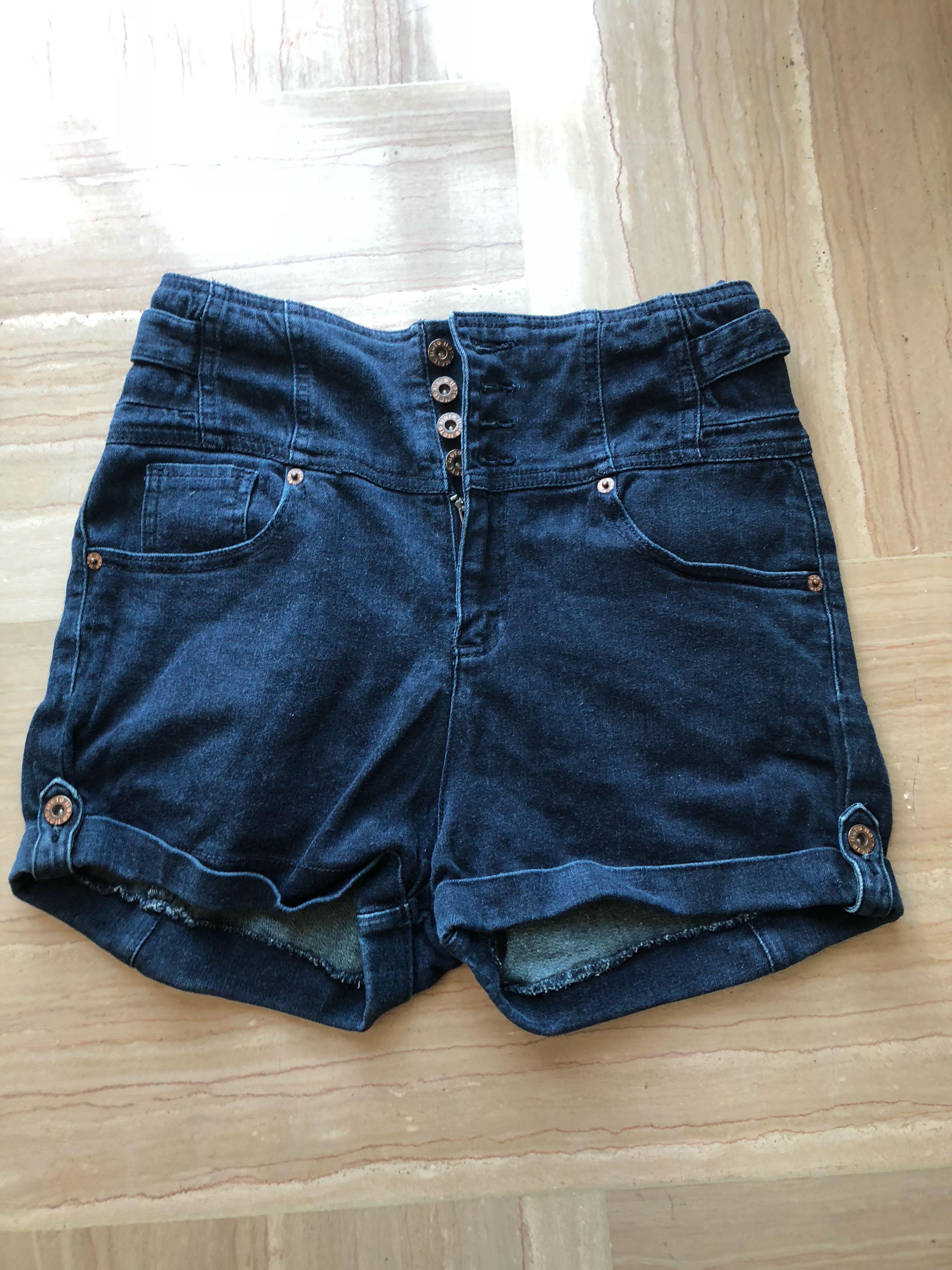 40c11f4e99 Topshop Moto shorts, Women's Fashion, Clothes, Pants, Jeans & Shorts ...