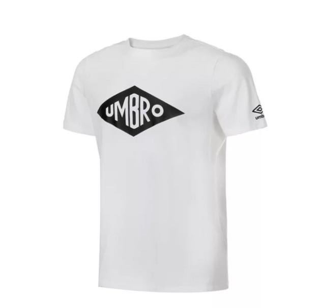 52ba9df4f7e Umbro t-shirt with logo, Men's Fashion, Clothes, Tops on Carousell
