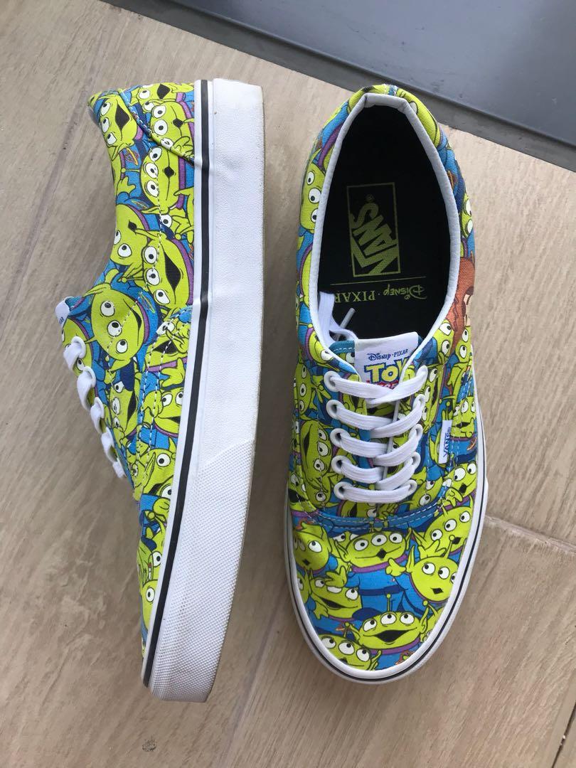 5ae0c039d4969e Vans Toy story shoes (alien print)
