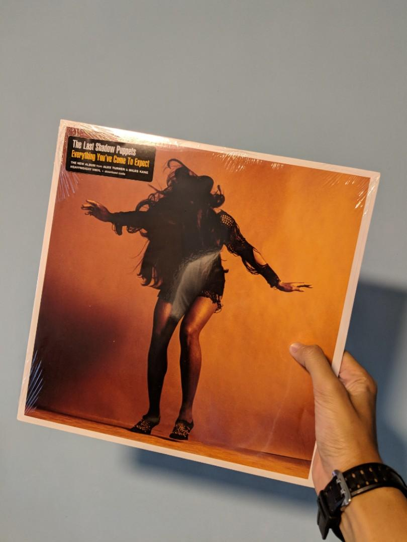 Vinyl Lp The Last Shadow Puppets Everything You Ve Come To Expect Music Media Cds Dvds Other Media On Carousell