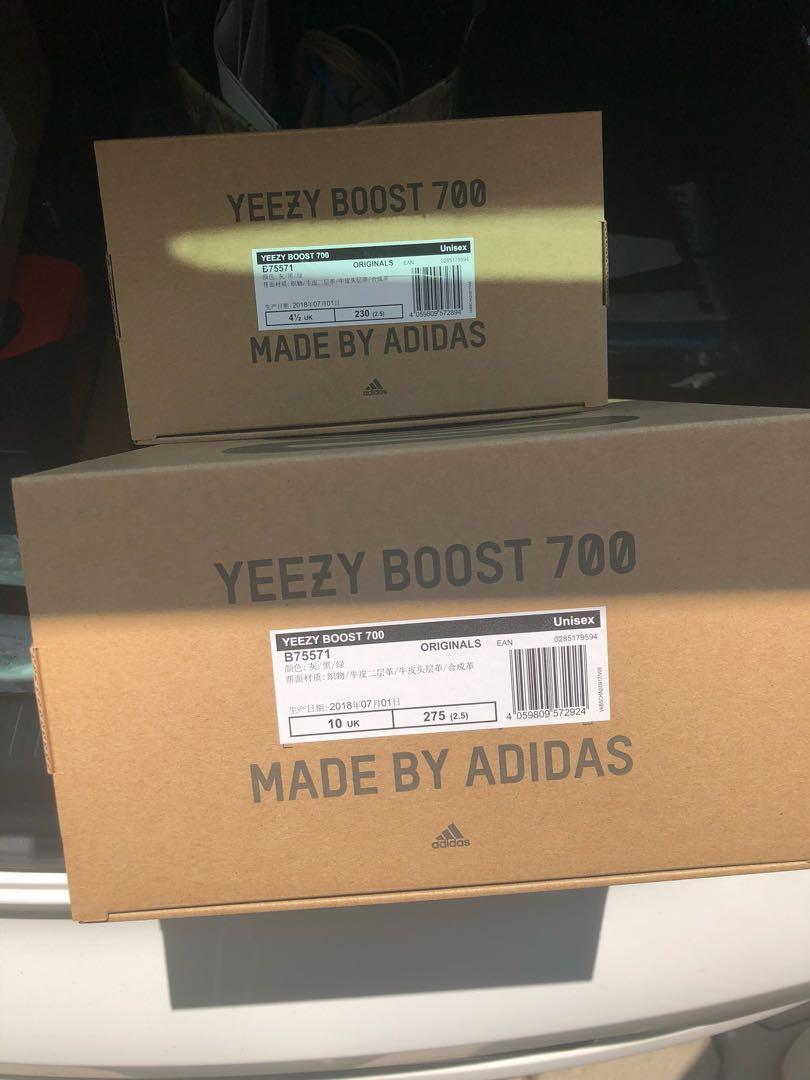 watch b9130 73670 Yeezy 700 wave runner, Men's Fashion, Footwear, Sneakers on ...