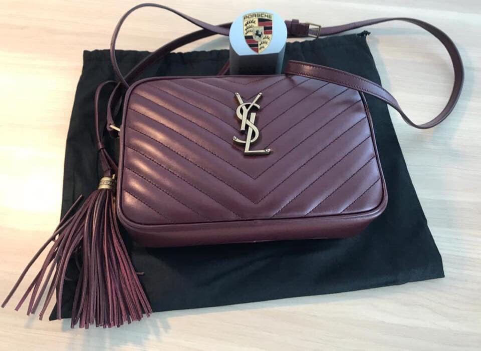 5c7626b5e018 YSL Lou Quilted Leather Cross Body Bag