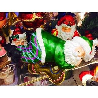 SALE!! Sleeping Santa