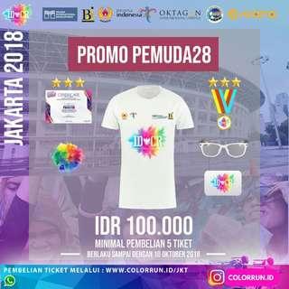 PROMO PELAJAR & MAHASISWA! Indonesia Color Run!