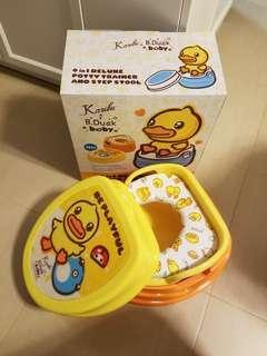B.Duck 幼兒4合1訓練座廁
