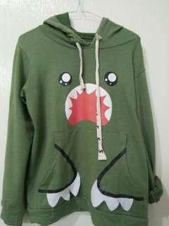 Sweater Hoodie Army green hijau tebal import lucu army green oversized zara stradivarius H&M Pullbear