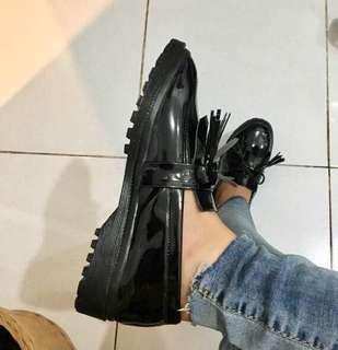 Loafer tassel black