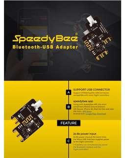 SpeedyBee Bluetooth-USB Adapter 2-6S Support STM32 Cp210x USB Connecter For RC Flight Controller