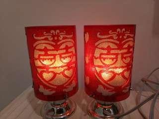 #1212 Chinese Wedding Lamp