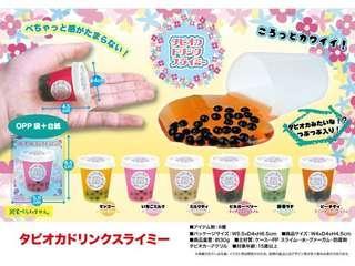 收藏版2套6色 珍珠奶茶 Slime (共12 杯)