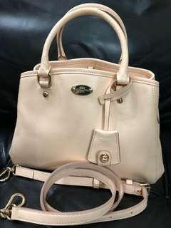 Authentic Coach Crossbody Apricot