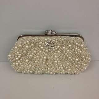珍珠晚裝袋