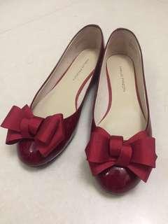 Maud Frizon 紅色圓頭鞋