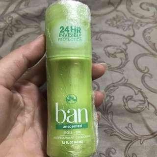 🚚 BAN 滾珠式 清新體香劑 無香味