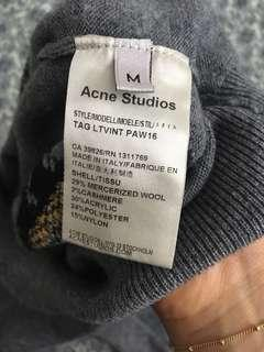 Acne Studios Phira Hot Dog Sweater