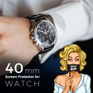 40mm Hydrogel Screen Protector for Watches