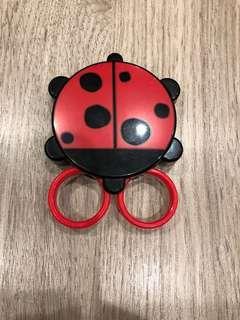 🚚 攜帶型瓢蟲小剪刀