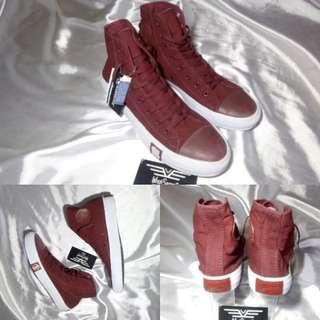 Sepatu Converse Undefeated Hi Maroon