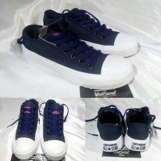 Sepatu Converse Murah Chuck Taylor II Low NAVY BLUE White