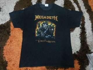 MEGADETH BAND T SHIRT