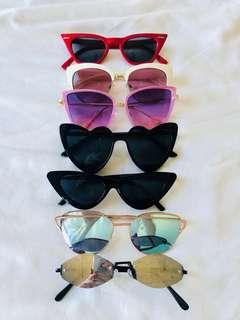 Sunglasses Collection 🕶 7 pieces! $5 each