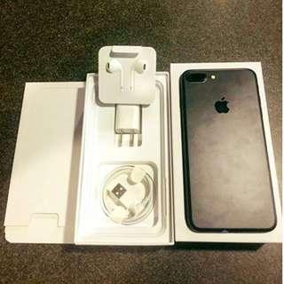 iPhone 7Plus 256GB Matteblack Openline