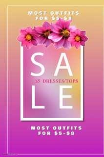 MEGA SALE $5 CLOTHES