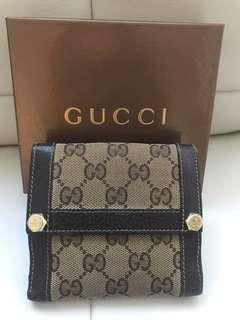 Authentic Gucci Signature Charmy Wallet