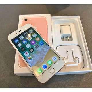 iPhone 7 128gb Rosegold Openline