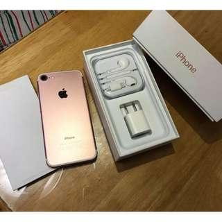 iPhone 7 32gb Rosegold Openline