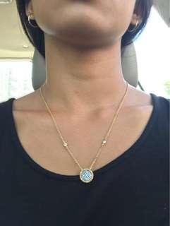 Frida Rothman yellow gold necklace