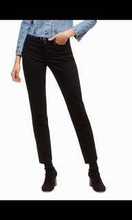 AritziaXLevis Wedgie Black Jean