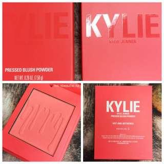 💛 KYLIE COSMETICS Pressed Powder Blush - Hot and Bothered