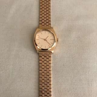 Nixon Minimal Rose Gold Watch
