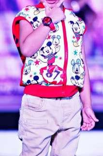 Mickey mouse top with pants