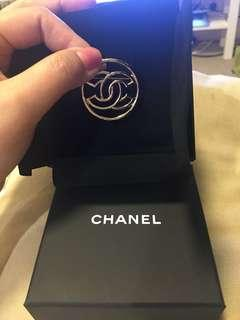 Authentic Chanel Brooch CC complete with receipt