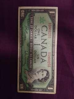 Canada 100 year of confederation note