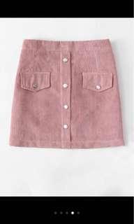 Cord/ corduroy skirt
