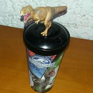 JURASSIC WORLD Snack Time Collectible Tumbler With Topper