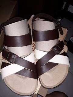 Sepatu sandal cortica brown