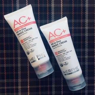 BunDEAL! Merphil AC+ Magic Cream Duo
