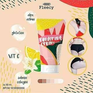 Fleccy deodorant cream