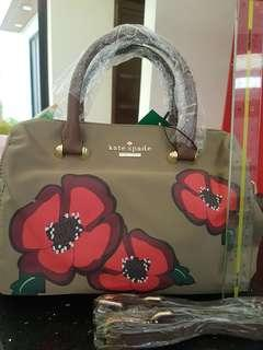 Kate spade hand bag with straps