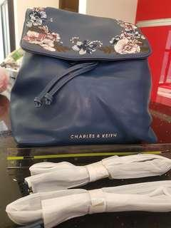 Charles and keith back pack