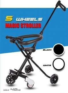 5 Wheels Magic Stroller