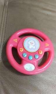 🚚 二手日本帶回方向盤聲響玩具
